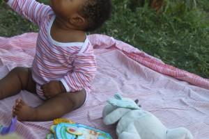 Week-end à la campagne avec bébé