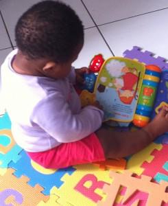 Crèche - développement de bébé
