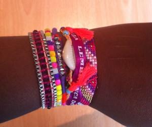 Bracelet Hipanema - idées cadeaux