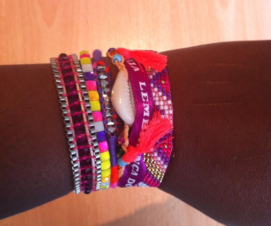 Bracelet Hipanema - idées cadeaux - anniversaire surprise