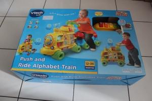Cadeau anniversaire de bébé  - 1 an -  Train Vtech - Sit to stand