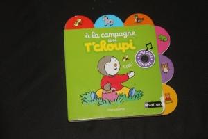 Cadeau anniversaire bébé  - 1 an - Livre Tchoupi