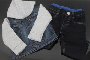Jean Levi's et pantalon Kenzo - Kidiliz - les indispensables pour une entrée en crèche