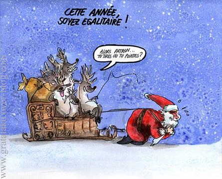 Premier calendrier de l avent 23 d c humour et blagues - Image humoristique pere noel ...