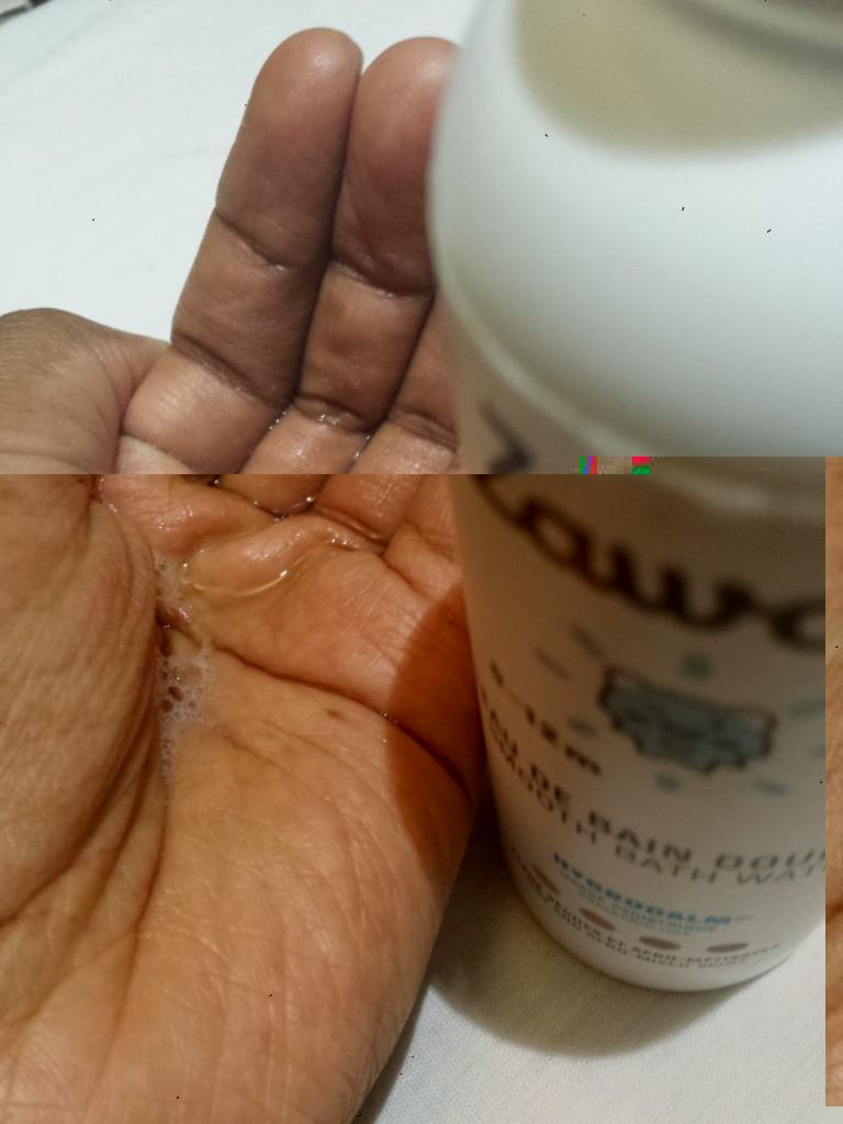 eau de bain Zawadi - peaux sèches des enfants afro-métissées