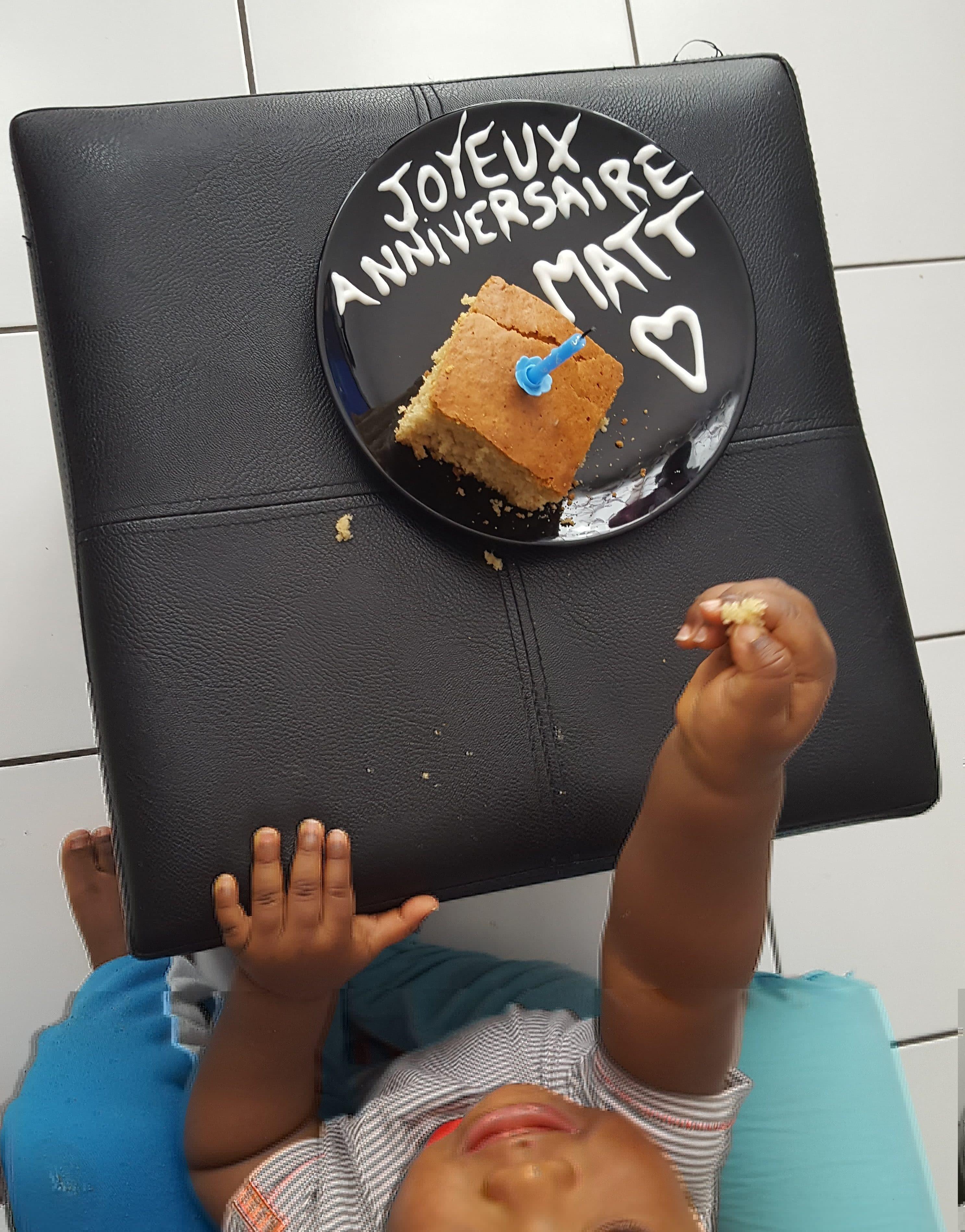 Un an anniversaire bebe