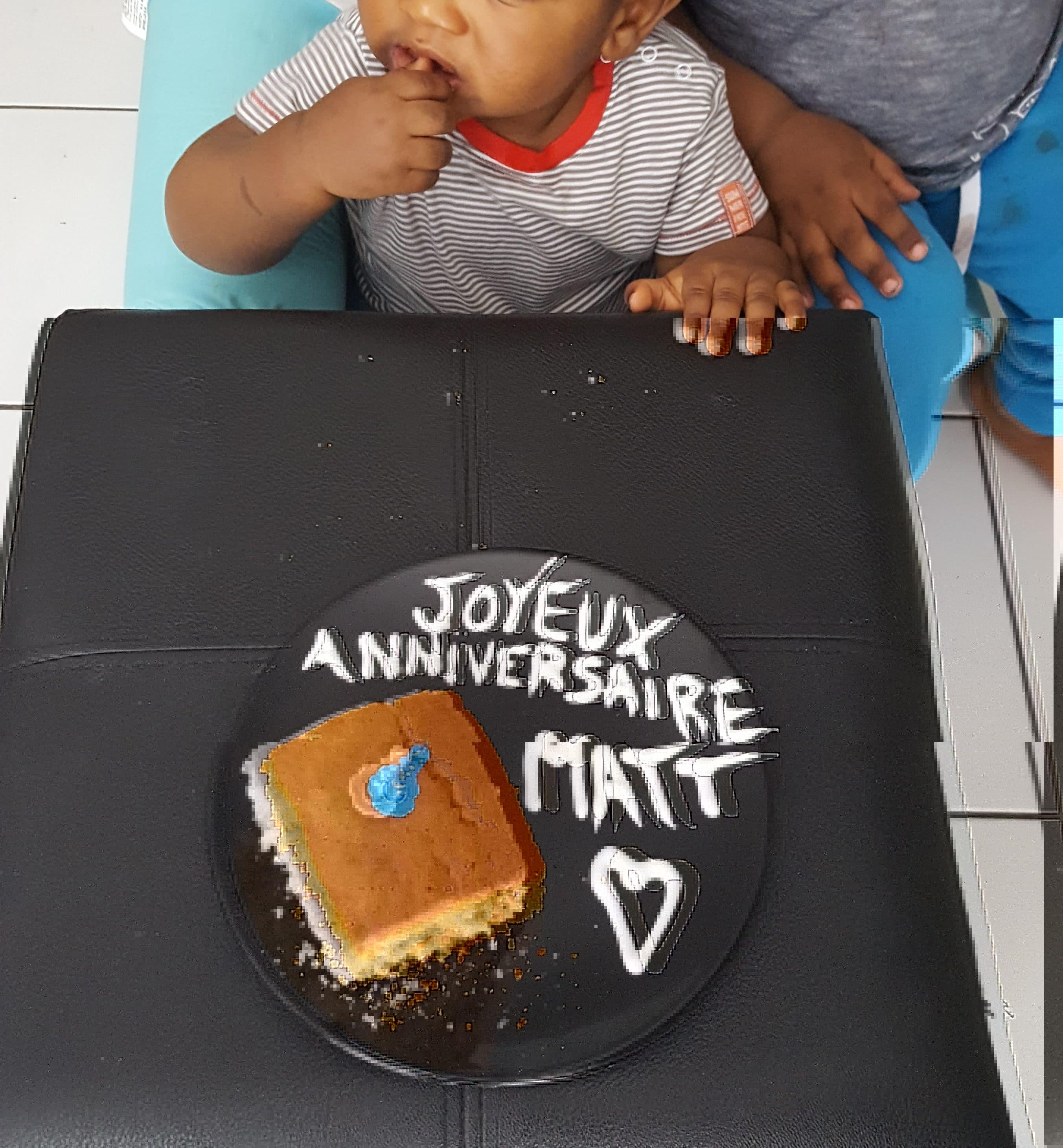1 an anniversaire bébé