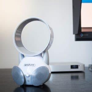 bladeless_mini ventilateur avec enceinte - idee cadeau noel