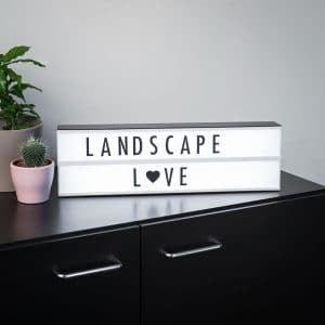 landscape_lightbox_Boite Lumineuse Cinéma - Format horizonta - idee cadeau