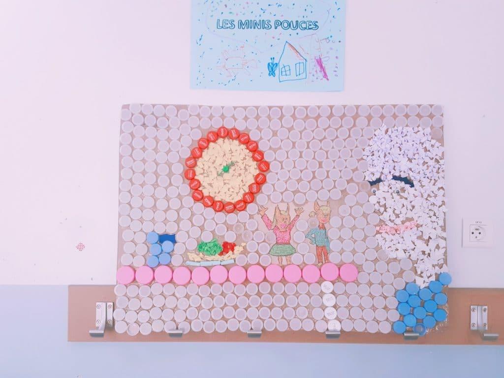 oeuvres enfants - centre de loisirs