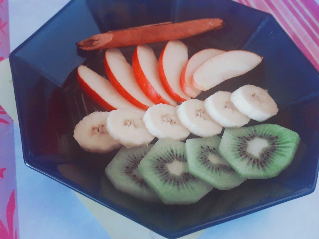 bibichallenge healthy food assiette de fruit
