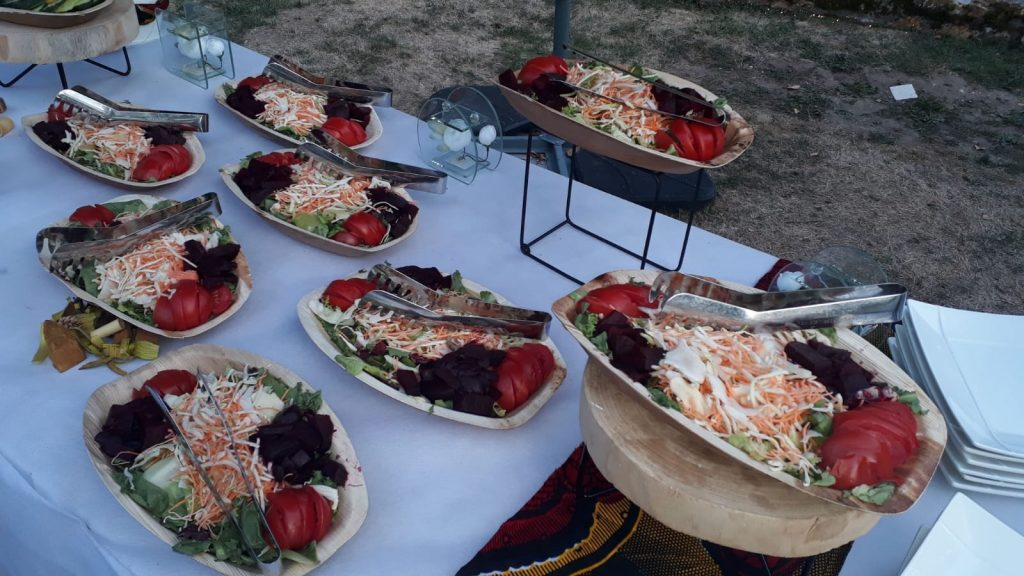 wedding day - mariage de rêve - buffet