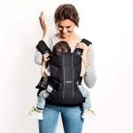 étape 1 - porte-bébé One Babybjorn - portage au dos