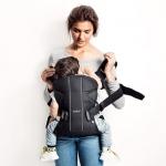 étape 2 - porte-bébé One Babybjorn - portage au dos